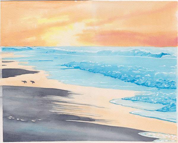 Good Morning Ocean Art | East End Arts