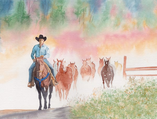 Bringing The Horses Home Art | East End Arts