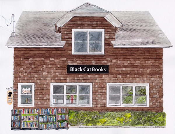 Black Cat Books, Shelter Island, Ny Art | East End Arts