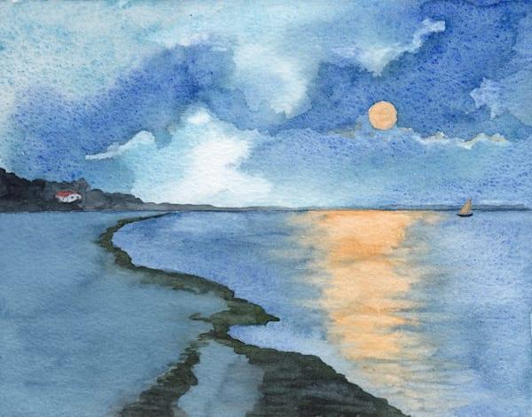 Moonlit Bay 1 Art | East End Arts
