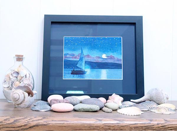 Night Sailors Print Art | East End Arts