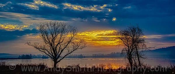 Magical Sunrise at Middle Creek