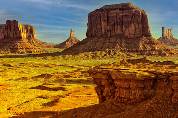 """""""John Ford Point"""" fine art photograph by Fred Neveu."""