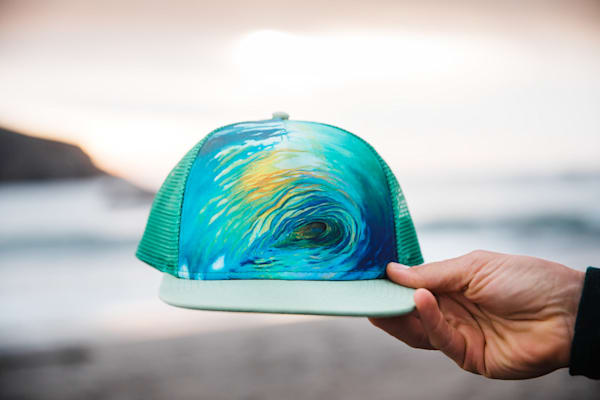 Within Reach Trucker Hat by Spencer Reynolds
