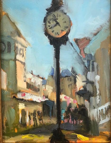 Ocean City Clock Art | Bkern Fine Art