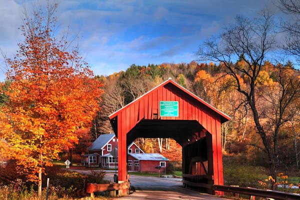 Crossing The Bridge To Autumn: Shop prints | Lion's Gate Photography