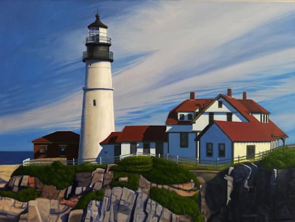 Portland Head Light | The Art of David Arsenault