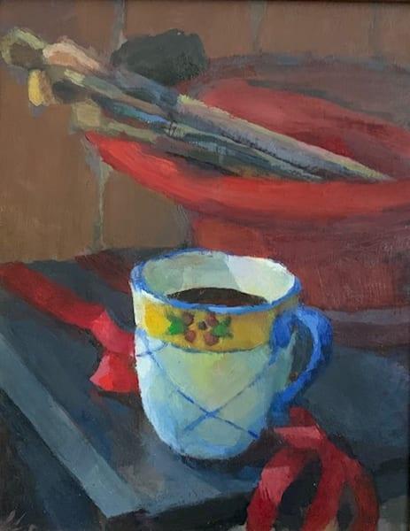 Coffee And Work | Bkern Fine Art