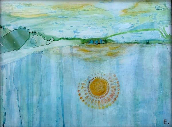 Softly Fading Away Art | Maitri Studio
