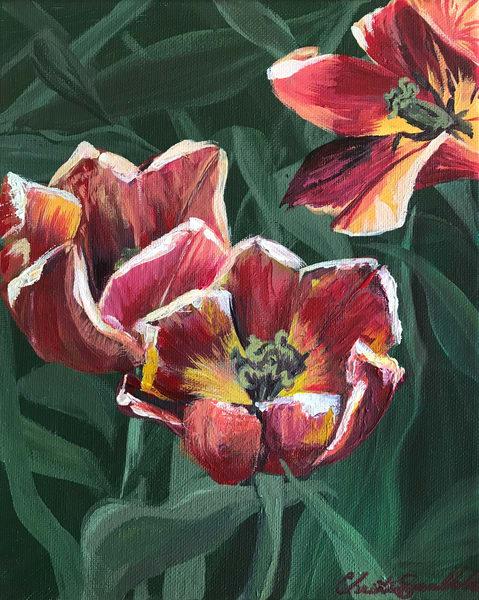 Fading Bloom Art   Christina Sandholtz Art