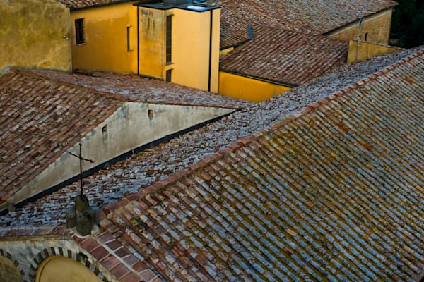 Tiled rooftops