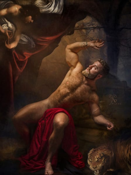 Fall Of The Rebel, Limited Edition, Artist Ben Fink, painting, photography, Photo illustration, art print,