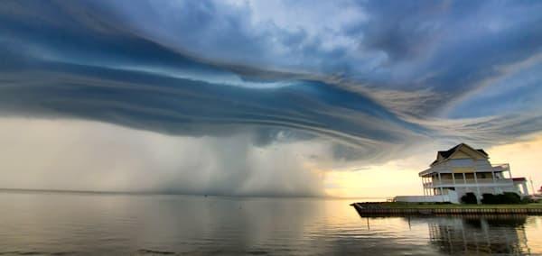 Pro Photo Va Rodanthe Sound Clouds 1 Photography Art | Professional Photography of VA LLC