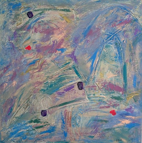 """Turn My Head Towards Home"" Original 30"" X 30"" Art   Garry Scott Wheeler Artwork LLC"