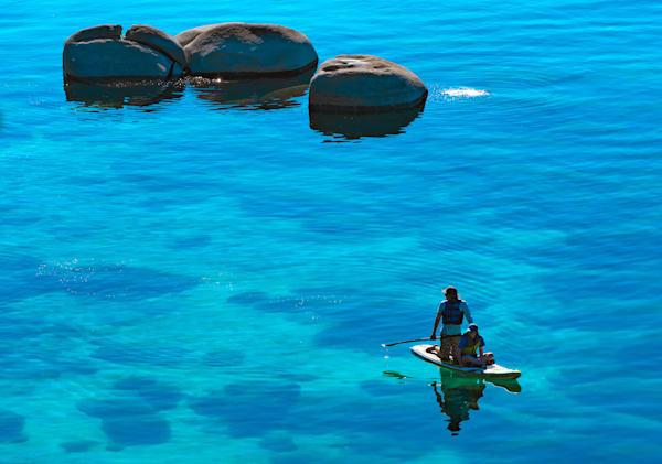 Floating With Guardians Art | Karen Hutton Fine Art