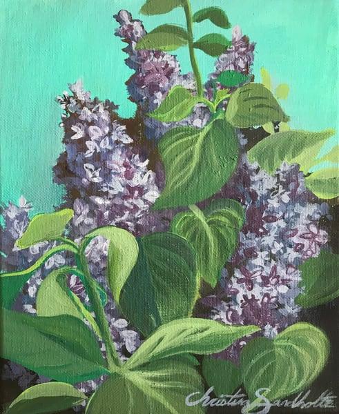 Lilacs Art   Christina Sandholtz Art