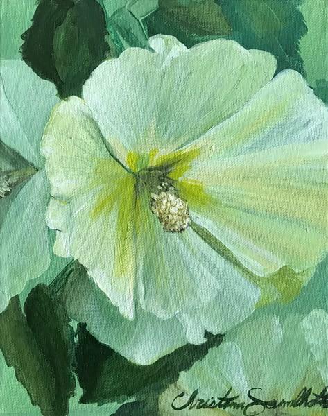 Violet Bloom? Art   Christina Sandholtz Art