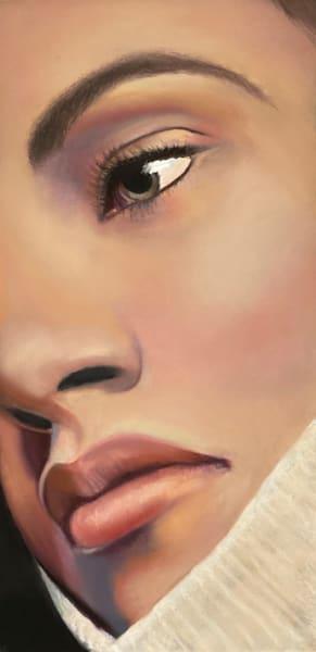 beautiful woman portrait is Meliana by Nancy Conant