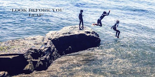 Look Before You Leap Art | Cutlass Bay Productions, LLC