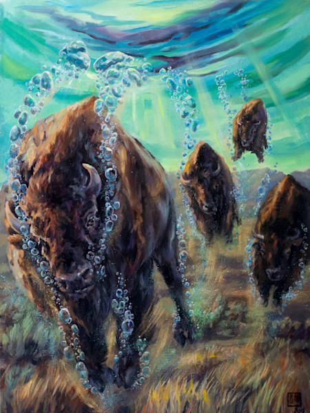 High Tide: Floating The Plains Art | Ans Taylor Art