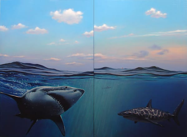 Swimming With Sharks Art | East End Arts
