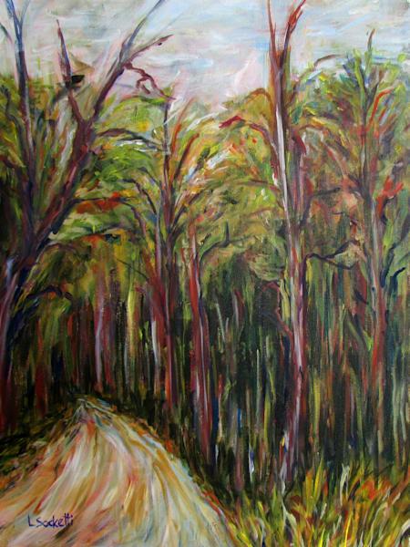 Enchanted Forest Art | Linda Sacketti