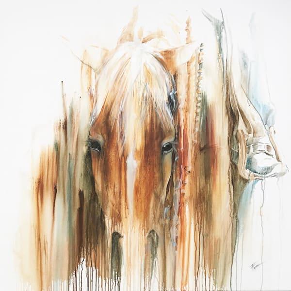Its Gunna Rein Today Art | Equine Instincts Studio
