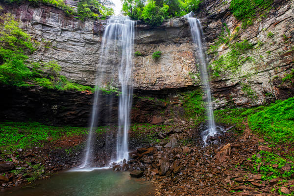 Below Fall Creek Falls - Tennessee waterfalls fine-art photography print