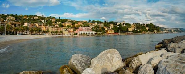 Santa Margherita seascape panoramic