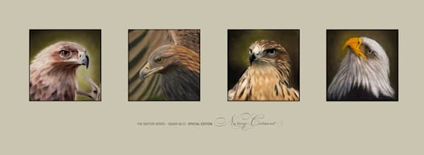 The Raptor Series Limited Edition Giclée