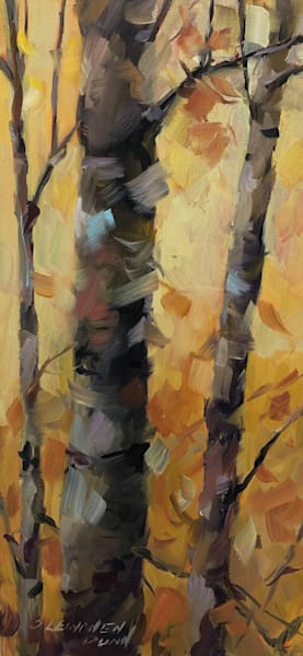 Golden Birches I Art | Full Fathom Five Gallery