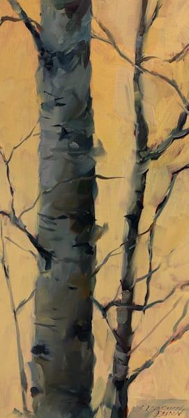 Golden Birches Ii Art | Full Fathom Five Gallery