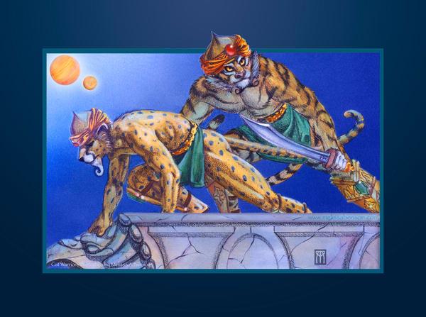 Cat Warriors Giclee Art | Melissa A Benson Illustration