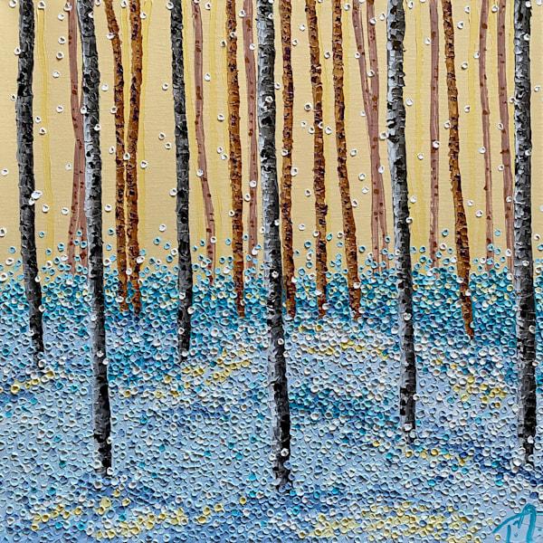 Shivering Forest   Original Oil Painting Art | Tessa Nicole Art