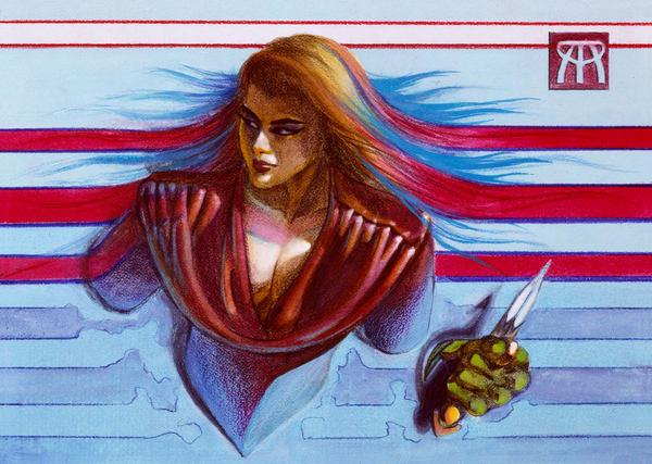 Assassin Art | Melissa A Benson Illustration