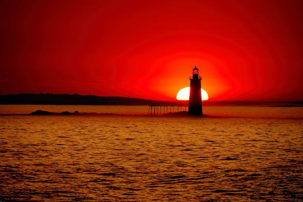 Sunrise at Ram Island Ledge | Shop Photography by Rick Berk