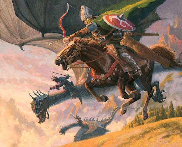 Rider Of Rohan Art | Studio Girard