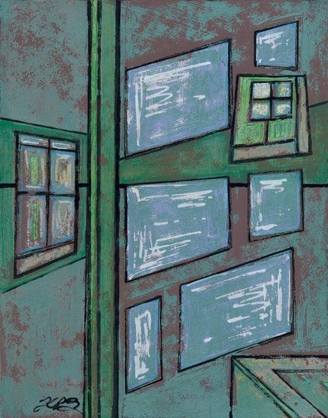 Windows Green Gaze