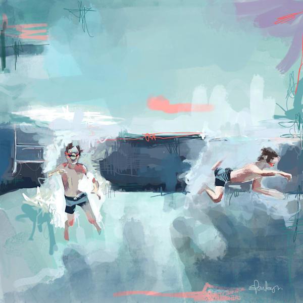 Underwater World Art | Atelier Steph Fonteyn