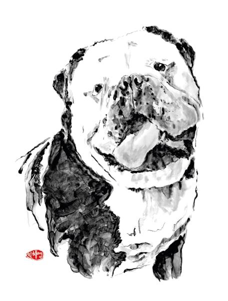 Capone: Bulldog Art | Youngi-Sumistyle pets