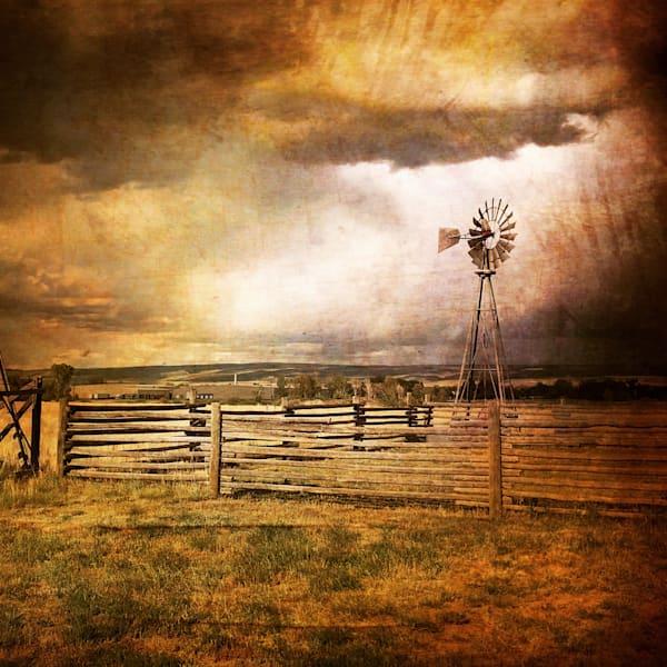 Wyoming Farmstead Memory Photography Art   Christensen Photography