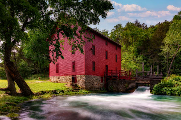 Alley Mill | Shop Photography by Rick Berk