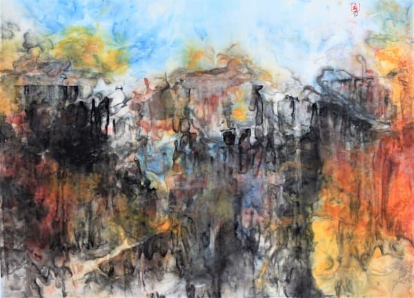 Descending Bryce (Unframed) Art   Karen Kurka Jensen