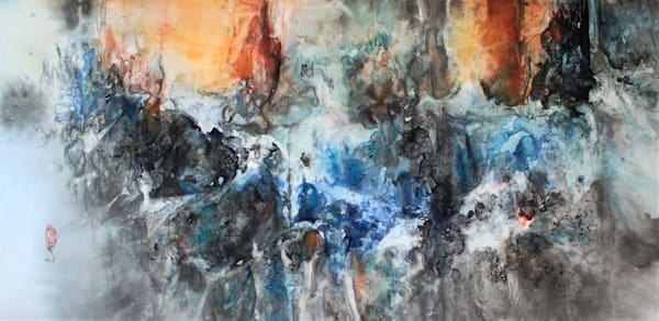 The Light Fandango 2 (Unframed) Art   Karen Kurka Jensen