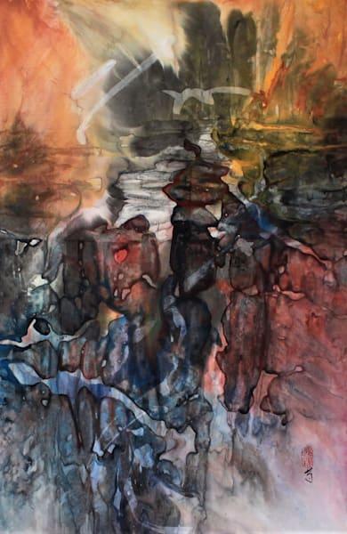 Still Pool (Unframed) Art   Karen Kurka Jensen
