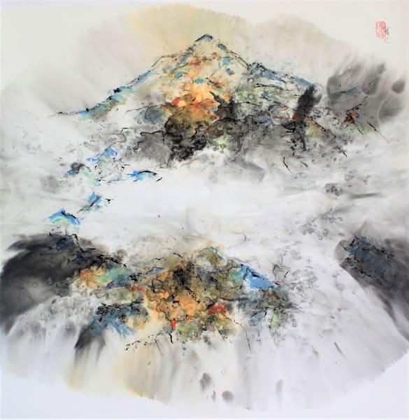 Shepherd's Rock (Framed) Art   Karen Kurka Jensen