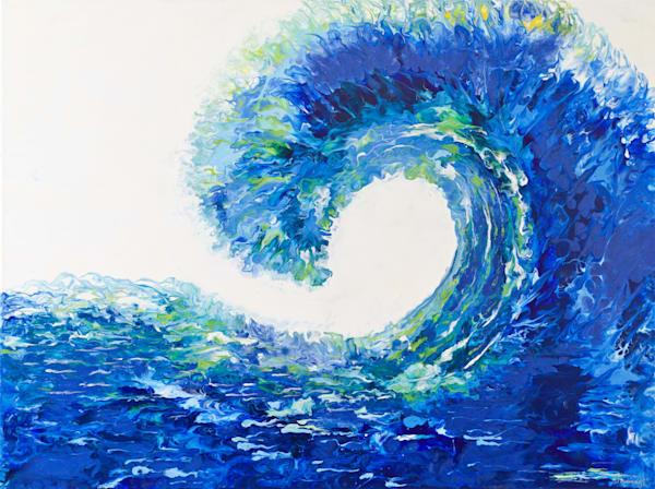 Majestic Wave  Art   Samina Hooda Art Gallery
