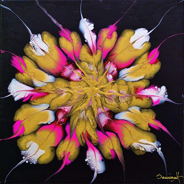 Pink Blossom  Art   Samina Hooda Art Gallery