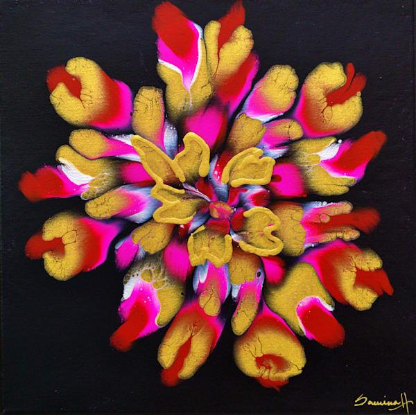 Red Blossom Art   Samina Hooda Art Gallery