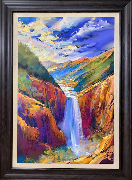 Lower Falls Yellowstone Art | Michael Mckee Gallery Inc.